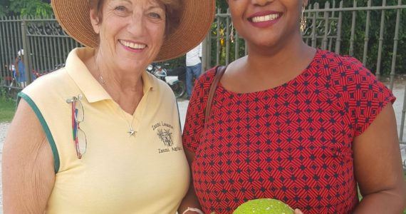 Celebrated Haitian Author Visits CFFL and Encourages Students and Supports Farmers